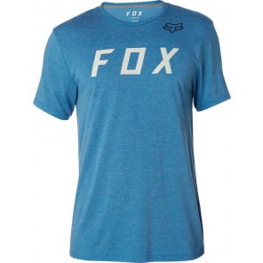 FOX GRIZZLED TECH HEATHER BLUE KOSZULKA