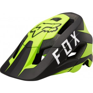 FOX METAH FLOW YELLOW/BLACK KASK