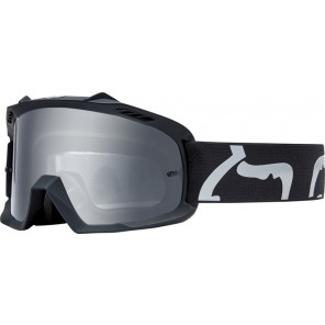 GOGLE FOX JUNIOR AIR SPACE RACE BLACK - SZYBA CLEAR