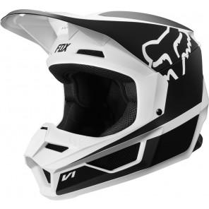 FOX V-1 PRZM kask czarno-biały