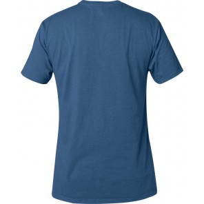 FOX LEGACY FOX HEAD DUSTY BLUE T-SHIRT