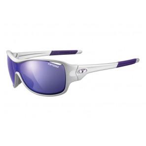 Okulary TIFOSI RUMOR CLARION silver purple (3szkła Clarion Purple LUSTRO 17,1% transmisja światła, AC Red, Clear) (DWZ)