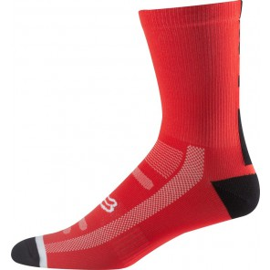 Skarpety Fox 8 Logo Trail Flame Red L/xl