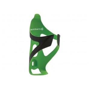 Koszyk na bidon BLACKBURN CAMBER karbonowy 30g czarno-zielony matowy