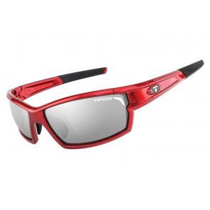 Okulary TIFOSI CAMROCK metallic red (3szkła Smoke 15,4% transmisja światła, AC Red, Clear) (DWZ)