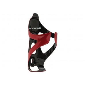 Koszyk na bidon BLACKBURN CAMBER karbonowy 30g czerwono-czarny połysk (DWZ)