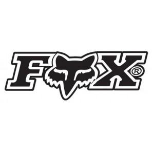 Daszek Do Kasku Fox V-1 Print Revolution Black/white
