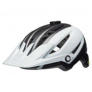 BELL SIXER INTEGRATED MIPS matte white black kask
