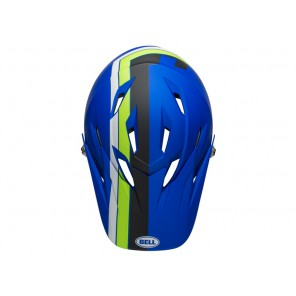 BELL SANCTION agility matte blue green kask