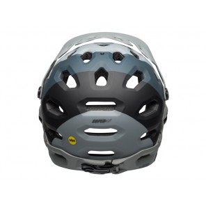 BELL SUPER 3R MIPS downdraft matte gray gunmetal kask