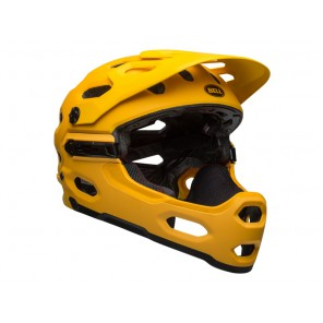 BELL SUPER 3R MIPS matte yellow coal kask