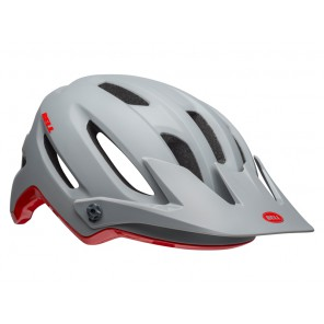 BELL 4FORTY cliffhanger matte gloss gray crimson kask
