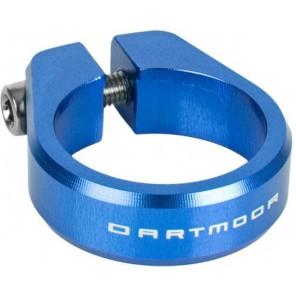 Dartmoor Obejma podsiodłowa Ring śred. 31,8mm, niebieska anodowana