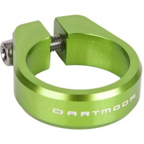 Dartmoor Obejma podsiodłowa Ring śred. 31,8mm, zielona anodowana