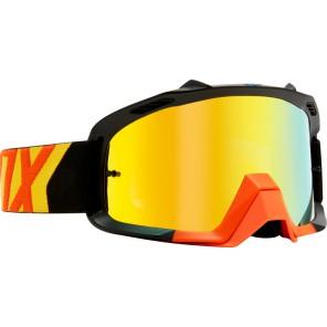 Gogle Fox Air Space Preme Black/yellow - Szyba Orange Spark + Clear (2 Szyby W Zestawie)