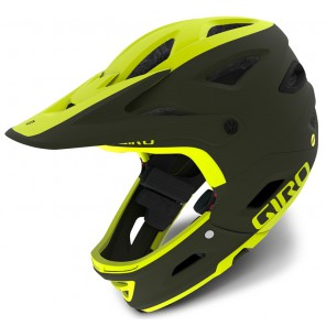 GIRO SWITCHBLADE INTEGRATED MIPS matte citron olive kask