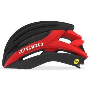 Kask szosowy GIRO SYNTAX INTEGRATED MIPS matte black bright red roz. L (59-63 cm) (NEW)