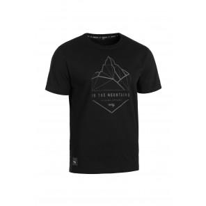 T-Shirt ROCDAY Summit M czarny