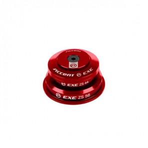 """Stery pół-zintegrowane HSI-EXE Taper 1-1/8""""-1.5"""" ZS44/ZS56 taper, czerwone, łożyska maszynowe"""