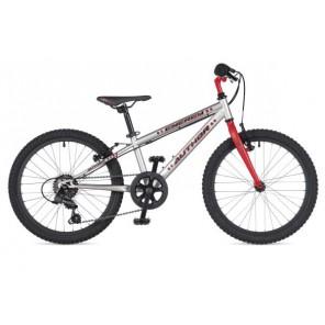 """ENERGY 20 10"""" srebrno/czerwony, rower AUTHOR"""