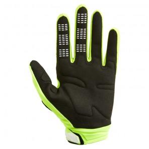 Rękawiczki FOX 180 Skew żółty
