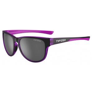 Okulary TIFOSI SMOOVE onyx/ultra-violet (1szkło Smoke 15,4% transmisja światła) (NEW)