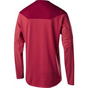 Koszulka Rowerowa Fox Z Długim Rękawem Flexair Delta Cardinal L