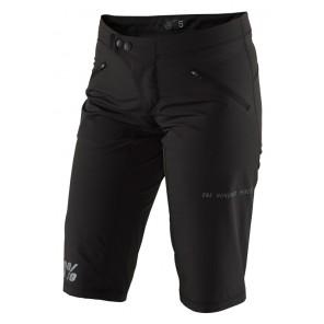 Szorty damskie 100% RIDECAMP Womens Shorts black