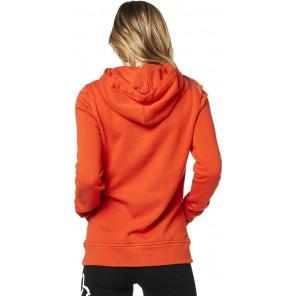 Bluza Fox Lady Z Kapturem Centered Atomic Orange