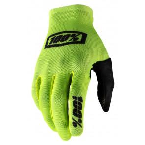 Rękawiczki 100% CELIUM Glove fluo yellow black roz. L (długość dłoni 193-200 mm) (NEW)
