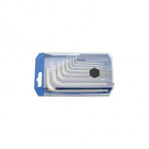 UNIOR zestaw kluczy imbusowych długich2-10