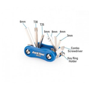 Klucze podręczne MTC-25; zestaw