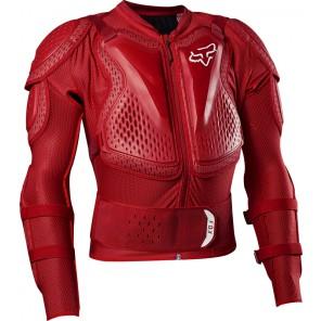 Koszulka Z Ochraniaczami Fox Titan Sport Flame Red