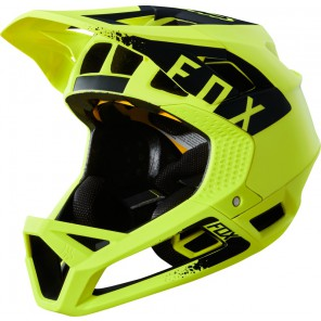 FOX PROFRAME MINK YELLOW/BLACK KASK