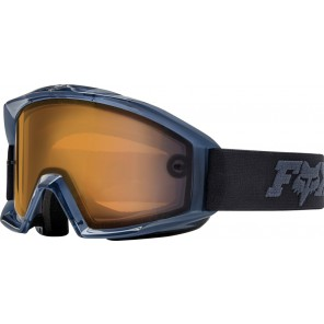 GOGLE FOX MAIN ENDURO BLACK - SZYBA DUAL ORANGE