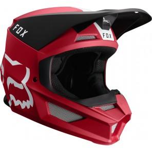 FOX V-1 MATA kask czerwony