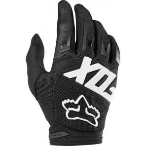 FOX DIRTPAW RACE JUNIOR rękawiczki-czarny-XS