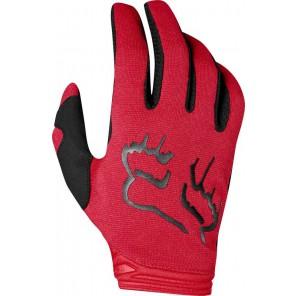 FOX DIRTPAW MATA LADY rękawiczki-czerwony-S