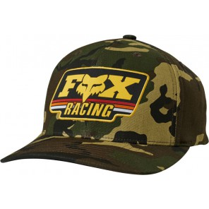 FOX THROWBACK 110 CAMO CZAPKA