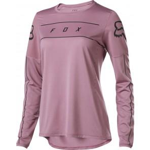 Koszulka Rowerowa Fox Lady Z Długim Rękawem Flexair Purple Hz S