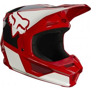 Kask FOX V1 Reven czerwony