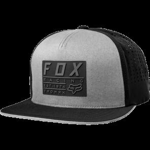 FOX REDPLATE TECH STEEL GREY CZAPKA