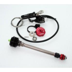 Manetka MILO + tłumik kompresji ABS+, R7 MRD