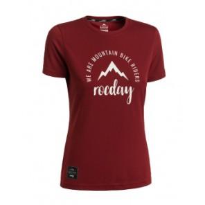 Koszulka ROCDAY Women Monty czerwony