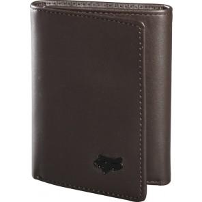 Portfel Fox Trifold Leather Brown Os