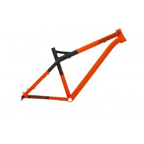 NS Bikes Rama Eccentric DJAMBO S Pomarańczowa Fluo
