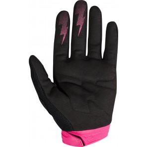 Fox 2018 Dirtpaw Race rękawiczki czarno-różowe
