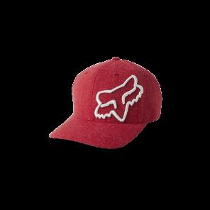Czapka z daszkiem FOX Clouded Flexfit 2.0 czerwony