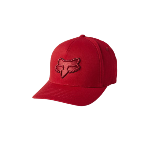 Czapka z daszkiem FOX Epicycle Flexfit 2.0 czerwony