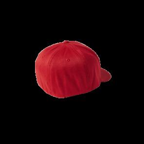 Czapka z daszkiem FOX Standard Flexfit czerwony